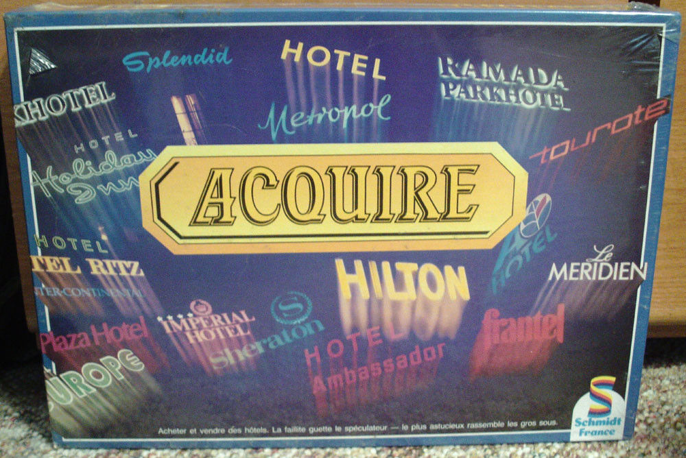 1980's French ACQUIRE Shrink Wrapped W Lloyd's Rules of ACQUIRE
