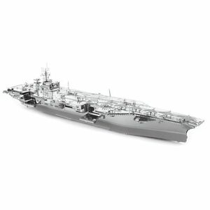 Fascinations Metal Earth ICONX USS Roosevelt Aircraft ...