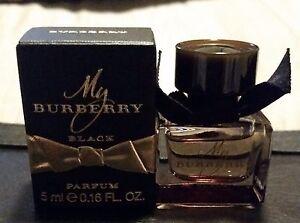 Details 0 My About Miniature Bnib 17 Black Burberry Fl Parfum 5ml oz 0wknOP8X
