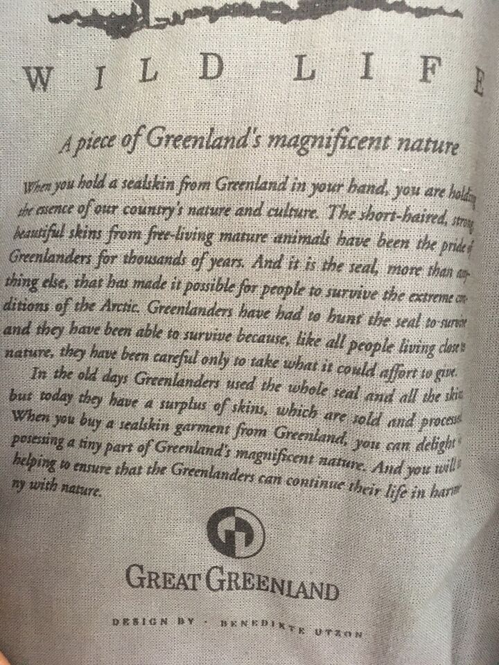 Jagttøj, Great Greenland