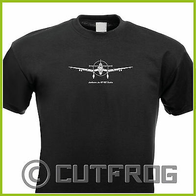 T-Shirt Junkers Ju 87 Stuka Flugzeug Airplane Airforce
