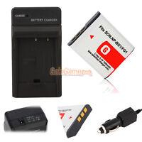 NP-BG1 Battery+Charger for SONY CyberShot DSC-W150 W170 W200 W210 W220 W230 W290