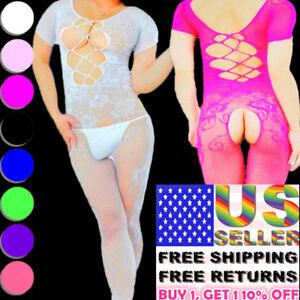 2e92a3b906f Image is loading Men-Sexy-Lingerie-Mesh-Bodysuit-Body-Stocking-Jumpsuit-
