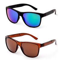 Mens Fashion Sports Sunglasses Bold Square Frame Shades Outdoor Eyewear