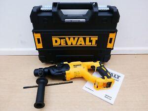 DEWALT 18V XR DCH133 3 MODE SDS HAMMER DRILL BARE UNIT + TSTAK CASE