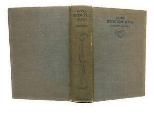 Vintage/Antique 1st Edition November Printing 1936 Gone With The Wind Book HC