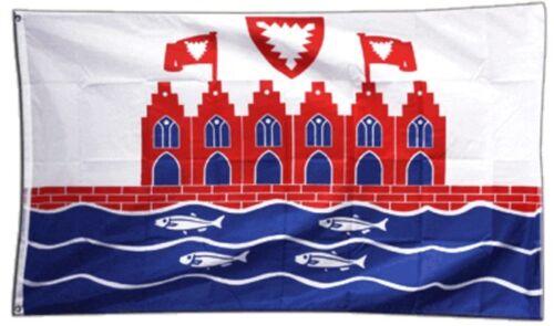 Fahne Deutschland Stadt Heiligenhafen Flagge  Hissflagge 90x150cm