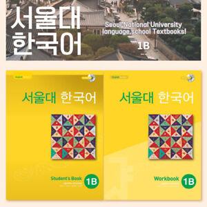 Seoul National University 1b Korean Set Student S Book Work Book Cd Ebay
