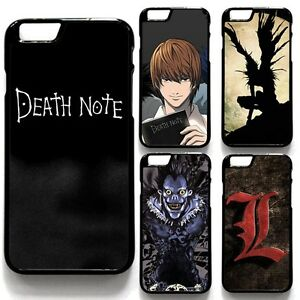 cheap for discount f1304 e98ee Death Note Hard Plastic Phone Case Cover For iPhone 5/5s/SE 5c 6/6s ...