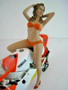 Biker-Girl-Cindy-AMERICAN-DIORAMA-Massstab-1-12-OVP-NEU