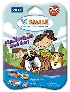 Jeu-V-SMILE-Motion-Mon-Toutou-Tout-Fou-3-6-ans-Vtech-Vsmile-Disney