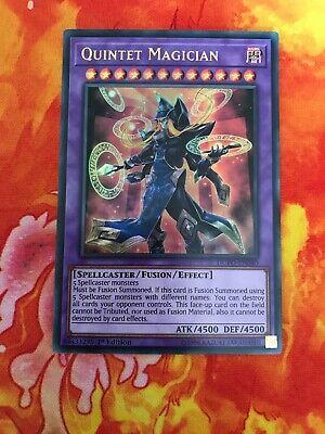 1st Edition Quintet Magician DUPO-EN040 Ultra Rare Card Yu-Gi-Oh Duel Power