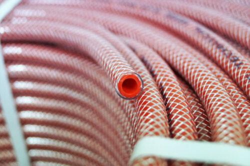 Tuyau à air comprimé 6 mm rouge polygarn-Dépôt au mètre tissu Tuyau luftschl