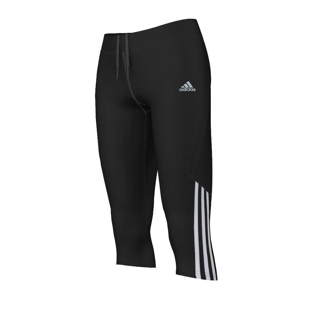 Adidas Response 3 4 Mallas W [xs 34 ] women Pantalones Running Correr