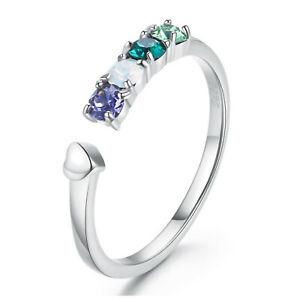 Silber-Ring-925-Sterlingsilber-Verlobungsring-Damen-SWAROVSKI-Elements