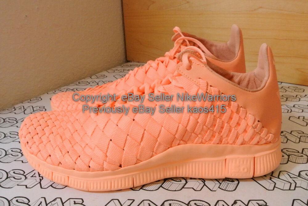 RARE Nike Free Inneva Woven Tech SP 705797 888 Sunset Glow Yeezy MEN 8.5 WMNS 10