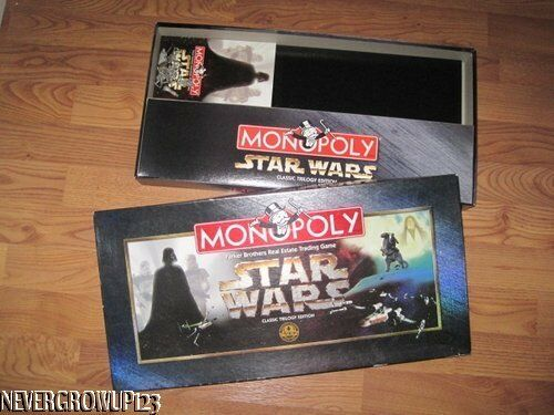 1997 STAR WARS MONOPOLYCLASSIC TRILOGY EDITION20 YEAR ANNIVERSARYEUC