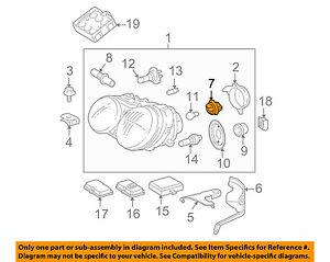 MERCEDES OEM 01-05 C320-Headlight Headlamp Socket 0018263482 | eBay