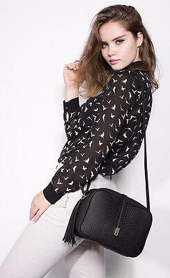 Women Lady Handbag Shoulder Tote Messenger Crossbody Bag Leather Satchel Fashion