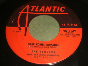 The-Clovers-Here-Comes-Romance-You-Good-Looking-Woman-45-DooWop