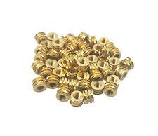 50x 10 32 Brass Threaded Heat Set Inserts For Plastic 3d Printing Brass Metal