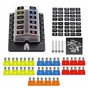 image is loading vetomile-car-automotive-1-in-12-way-fuse-
