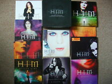 HIM - The Single Collection: Incs all Ltd Ed Singles & Unreleased -10 CDs + Box