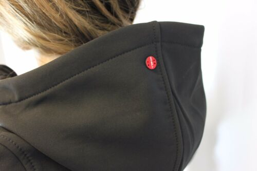 Jacket Rrp Black Size Small Pockets 3 846 Zip Hooded Hip £80 O'neill Fleece xwn6gBPqYH