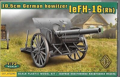 Ace 10.5 Cm Tedesco Howitzer Lefh-16 In 1/72 290