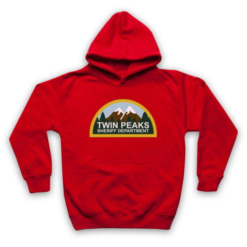 SHERIFF DEPARTMENT UNOFFICIAL TWIN PEAKS CULT TV SHOW ADULTS /& KIDS HOODIE