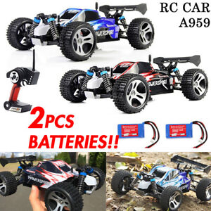 50km-h-Wltoys-A959-RC-Car-2-4G-Remote-control-4WD-Off-Road-RC-Buggy-1x-Battery