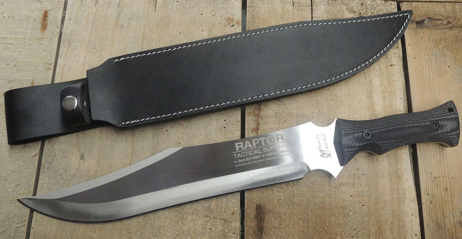 MTECH Xtreme Raptor Messer Machete Buschmesser 8Cr13MoV Stahl Micarta Micarta Micarta MX8070 d5f975