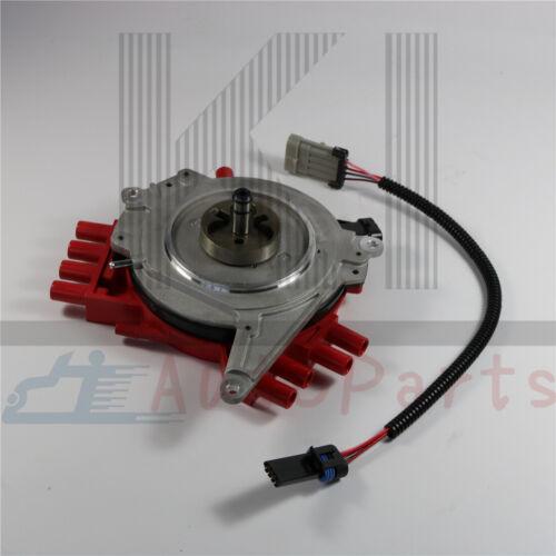 Red Ignition Distributor 1104032 For Optispark LT1 Chevy Camaro Caprice Corvette