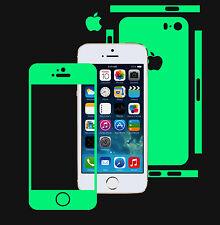 Glow in the Dark Skin Protector,Full Body Vinyl Decal Case Wrap, Apple Iphone 5