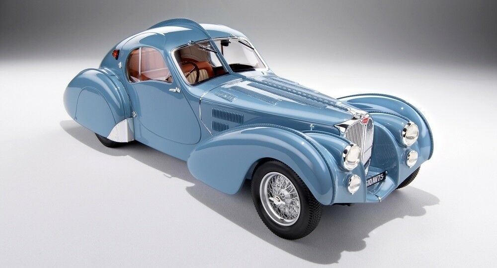 Ilario IL1804 1 18 Bugatti 57S Atlantic 1936 sn57473 Current and 1955 Car