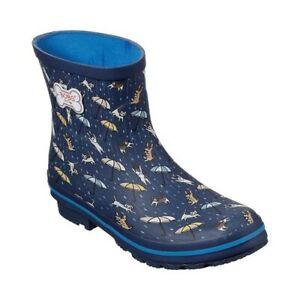 Skechers Women's BOBS Rain Check Puddle Paws Rain Boot