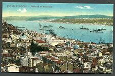 C1920's View of Ships at the Entrance to the Bosphorus Strait, Istanbul