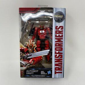 Hasbro Transformers Autobot Drift The Last Knight Master Swordsman Red Premier