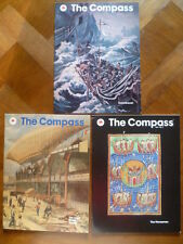 """MOBIL OIL-""""THE COMPASS""""-THE MAGAZINE OF THE SEA AND AIR-VOL. LXI 1991-"""