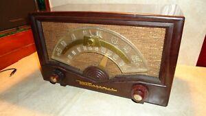Vintage-50-039-s-Westinghouse-AM-FM-Tube-Radio-Model-H-350T7
