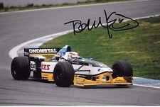 Tom Kristensen SIGNED  F1 Minardi-Hart M197  , Barcelona Test December 1997