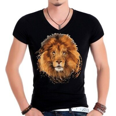 Lion Patches T-shirt Heat Transfer Sticker Washable Clothes Iron On Appliques
