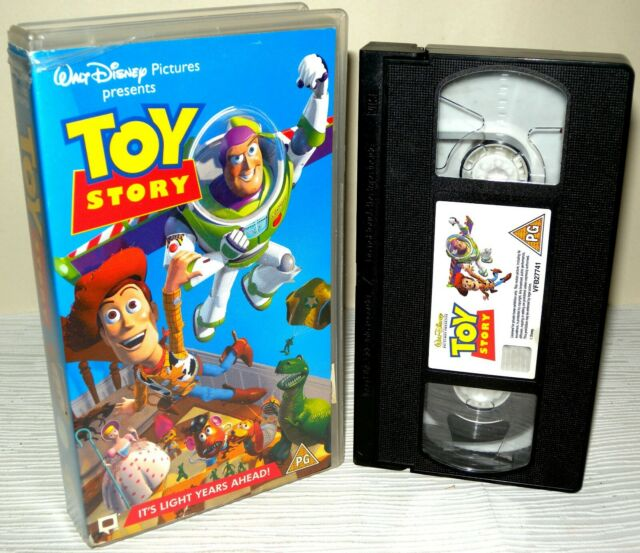 Toy Story - Walt Disney - Children's VHS Tape & Case, Collectable VHS