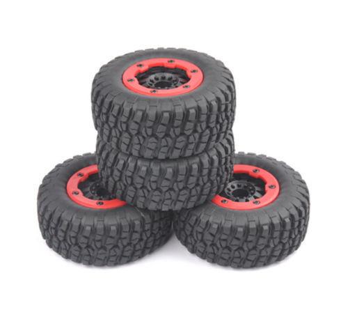 Bead-Lock Tire Wheel Rim For 4×1//10 Scale RC Short Course Car TRAXXAS Slash US