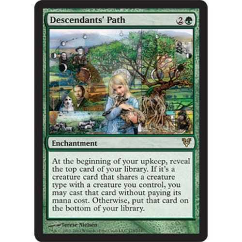 Magic the Gathering 1x DESCENDANTS/' PATH NM Avacyn MTG