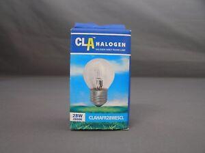 CLA-28W-ES-2800K-ENERGY-SAVING-HALOGEN-FANCY-ROUND-GLOBE-CLEAR