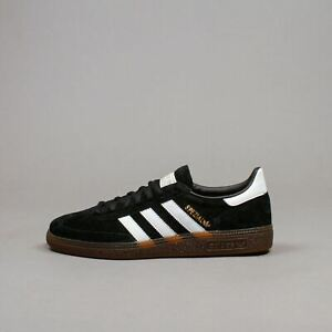 Doctor en Filosofía río Rareza  Adidas Originals Men Handball Spezial Black White Gum Casual Shoes New  DB3021 | eBay