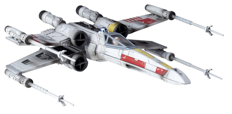 Star - wars - en x-wing kaiyodo revoltech 006 luke skywalker r2 - d2 en bieten