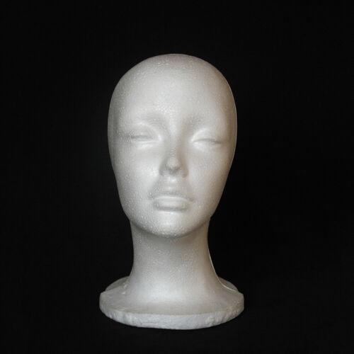 Wohnen Breites Rack Modell des Kopfes Weibliche Display Stand Schaum Mannequin
