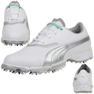 Details about Puma Biopro Ladies Golf Shoese Golf 187588 02 Waterproof Spikes